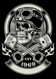 Resultado de imagen de skull pistons