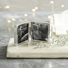 """Buy Fine Mini Hinged Frame 2x2"""" - from The White Company"""