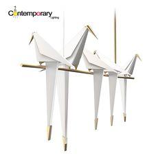 Tausend papierkraniche weiß led origami restaurante schlafzimmer terrasse kunst kreative nordic minimalistische barsch vogel anhänger lampe in  Emegency hinweis  urlaubszeit: Januar 6, 2017 februar 14, 2017  Neujahr urlaub, werden wir alle neue aufträge.          aus Pendelleuchten auf AliExpress.com | Alibaba Group