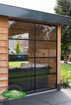 Overkapping_Lienden_(6)[1] Sas Entree, Garden Room Extensions, Studio Shed, House Deck, Backyard Patio Designs, Garden Office, Garden Structures, Garden Projects, Outdoor Living