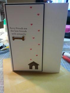 A muse studios pet sympathy card
