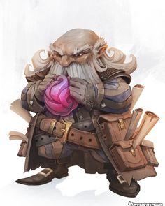 regram @eyardt Currator - Pathfinder - Paizo #pathfinder #dwarf #gnome #paizo #rpg