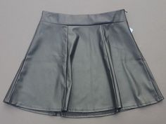 Black faux leather mini skirt Maurice's Vegan Made in USA Cosplay BSDM Fetish M #Maurices #Mini