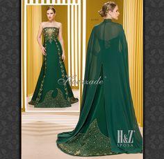 Caftan/ Henna Night Dress , designer Sevda Gevenci for Hocazade , www.hz.com.tr