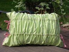 DIY Pillow Shams : DIY Gorgeous Ruched Pillow