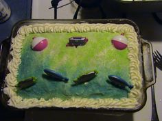 Fishing Cake for Christians 10th b-day