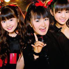 #SUMETAL #YUIMETAL #MOAMETAL #BABYMETAL #DEATH... BABYMETAL TUMBLR BABYMETAL SUMETAL MOAMETAL YUIMETAL JAPAN — #SUMETAL #YUIMETAL #MOAMETAL #BABYMETAL #DEATH...{ Japanese Girl Band, Moa Kikuchi, Best Friend Pictures, Girl Bands, Kawaii Fashion, Women's Fashion, Female Singers, Visual Kei, Debut Album