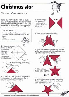 Our lovely origami artist Steve shares his guide to making an origami Christmas tree star! More on Steve > http://www.contrabandevents.com/performer.php?name=Steve+-+Origami+Artist+-+East+Sussex=Artistic+Entertainment=Origami+Artists