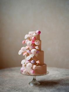 I could kiss this cake it's so lovely.   a dreamy mushroom cake