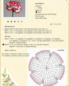 Crochet Flower Patterns Мобильный LiveInternet Альбом «The Book of Crochet Flowers Crochet Bouquet, Crochet Puff Flower, Knitted Flowers, Crochet Flower Patterns, Crochet Diagram, Crochet Chart, Crochet Motif, Diy Crochet, Appliques Au Crochet
