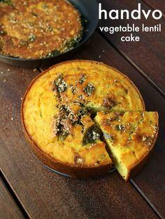 how to make gujarati handvo recipe Veg Recipes, Kitchen Recipes, Indian Food Recipes, Snack Recipes, Cooking Recipes, Pakora Recipes, Sandwich Recipes, Cooking Tips, Delicious Recipes