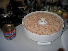 Dehydrating meats and canned meat