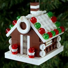 2014 Gingerbread House Christmas Ornament by ornaments4charity on Etsy