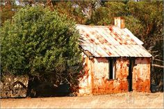 Pioneers cottage stands after many years of lonely existence in a farm paddock near new norcia,western australia Australia House, South Australia, Western Australia, Australia Travel, Australian Architecture, Historical Architecture, Pictures To Draw, Stock Pictures, Abandoned Houses