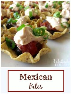 These little Mexican bites are full of flavor. No cooking required. Yes!