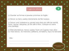 Organize sem Frescuras   Rafaela Oliveira » Arquivos » Checklist de organização da cozinha
