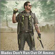Ka-Bar Zombie Killer Knives. Blades Don't Run Out Of Ammo