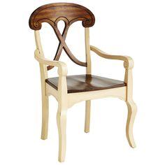 Marchella Armchair - Antique Ivory | Pier 1 Imports