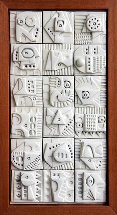 Terracotta wall sculpture by Ron Hitchens for sale - crafts - . Terracotta wall sculpture by Ron Hitchens for sale – crafts – Ceramic Wall Art, Ceramic Clay, Sculpture Clay, Wall Sculptures, Ceramic Sculptures, Slab Pottery, Ceramic Pottery, Keramik Design, Clay Tiles