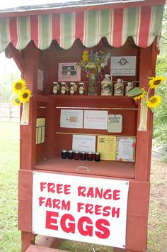"Our farm stand located outside is an old fashioned ""honor system"""