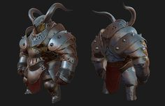 ArtStation - Chunky Knight, Gray Ginther