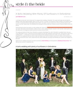 Oxford Marquee Wedding on Style & The Bride