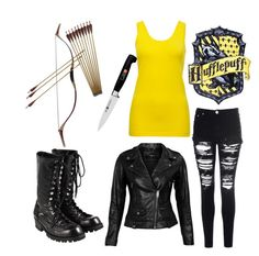 Casual School Outfits, Outfits For Teens, Cool Outfits, Fashion Outfits, Harry Potter Accessories, Harry Potter Outfits, Apocalypse Fashion, Zombie Apocalypse, Dress Sketches