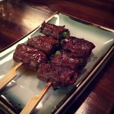 Yokoso Izakaya (Moonee Ponds): Wagyu Beef and Asparagus from the Charcoal Grill [9/10].