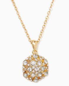 charming charlie | High-Glam Hexagon Necklace | UPC: 410007212274 #charmingcharlie