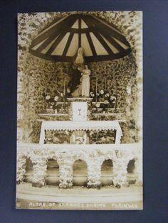 Plain Wisconsin WI Atlas Of St. Anne's Shrine Real Photo Postcard RPPC #Plain #Wisconsin #RPPC #RealPhoto #Postcard #DakotaTreasureHunter #Vintage #Antique