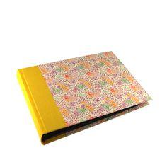 Fotoalbum Sommerblumen rosa gelb