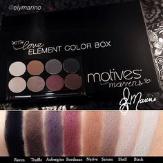 "OKAY IF YOUR LIKE ME THIS IS MY FAVORITE MOTIVE'S EYE SHADOW PALETTE THEY JUST RELEASED 2 NEW MOTIVE'S MAVEN'S PALETTE'S CALLED ""DEMURE"" AND ""DYNASTY""  $39 each GORGEOUS EYE SHADOW PALETTES I SAW THEM ON INSTAGRAM AND IF YOU GO TO MOTIVES WEBSITE YOU CAN SEE THEM THERE FOR YOURSELF☺ I'M SORRY I DON'T HAVE ANY PICTURES TO LINK HERE AS I DON'T SELL THEIR COSMETICS JUST LOVE THEM☺ THEY ALSO INTRODUCED SEVERAL OTHER ITEM'S☺   Mavens Element Color Box!! motivescosmetics.com/alissap"