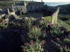 Manobier Castle, Wales