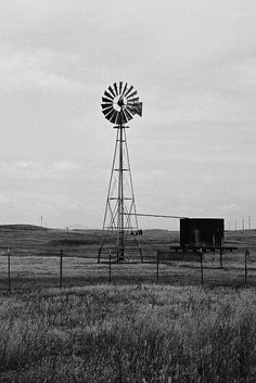 Photograph of a Windmill on Highway 26 Linden, California - Black and White 2 Farm Windmill, Old Windmills, Or Mat, Travel Oklahoma, Water Tower, Extreme Weather, New York Travel, Great Memories, Thailand Travel