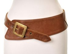 Tan hip belt / Jocasi belt - Westend curved asymmetric style, plus sizes available from onceuponabelt.com