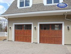 Infinity Classic Model I206S WG Cedar PC Finish Garage Doors