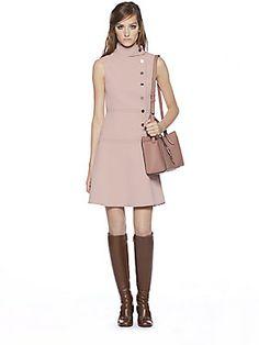 Gucci Asymmetric Sleeveless Dress