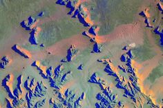 """September 8, 2015: """"Since we don't have much green up here, the green of this desert is even more appealing."""" Image credit: NASA/Scott Kelly"""