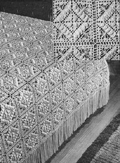Free Crochet bedspread Patterns