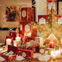 Enjoy a gift-giving spree with this season's offerings - to yourself. Christmas Candles, Glass House, Giving, Fragrances, Diffuser, Gift Wrapping, Seasons, Instagram, House Of Glass