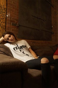 Q&A with Ondine Vinao wearing the James Franco tee