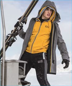 After starring in an Olympic and summer advertisement for Emporio Armani's EA7 line, Pietro Boselli returns as the brand's face for another season. Appearing in the label's fall-winter 2016 campaign and catalogue, the Italian model braces for a season of cold. Taking to snow covered mountains, Pietro is an active vision as he showcases EA7's...[ReadMore]