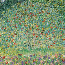 Image result for Gustav Klimt Apple Tree Art Print