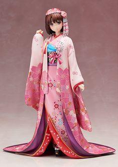 Saenai Heroine no Sodatekata - Katou Megumi - 1/8 - Kimono Ver. (Aniplex) ‹ Figures ‹ Databases - MyFigureCollection.net (Tsuki-board.net)