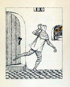 from Rumplestiltskin by Edith H. Tarcov, illustrated by Edward Gorey