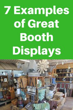 7 Examples of Great Flea Market Booth Displays and Why