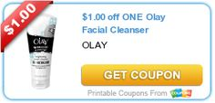 Coupon $1.00 off ONE Olay Facial Cleanser http://azfreebies.net/coupon-1-00-one-olay-facial-cleanser/