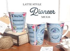 Pioneer Mug : Name & Congregation