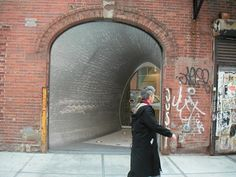New York Architecture Images- Chelsea- Comme des Garcons