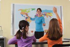 MimioBoard interactive whiteboard  http://www.mimio.com/en-NA/Products/MimioBoard-Interactive-Whiteboard.aspx#